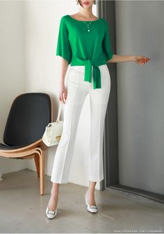Korean Women`s Fashion Shopping Mall, Styleonme. Elisa Cavaletti, Korean Women, Office Outfits, Mode Style, Blouse Designs, African Fashion, Casual Chic, Blouses For Women, Fashion Dresses