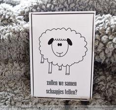 Samen schaapjes tellen