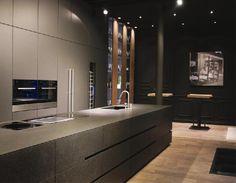 Kitchen Dinning Room, Studio Kitchen, Kitchen Decor, Interior Design Images, Bathroom Interior Design, Kitchen Interior, Minimal Kitchen, House Design, Kitchens