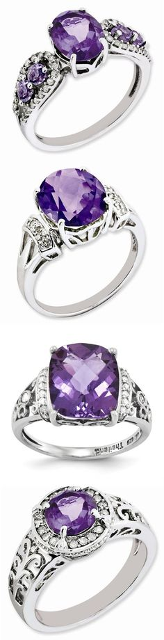 Gemstone Rings Collection - Fashion Jewelry - Trendy Jewelry