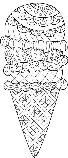 Summer Coloring Pages, Coloring Book Pages, Coloring Pages For Kids, Free Printable Coloring Sheets, Coloring Pages Inspirational, Jr Art, Creative Gift Wrapping, Scrapbooking Layouts, Drawing