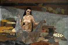 Felice Casorati (1883-1963, Italy) - Cerere