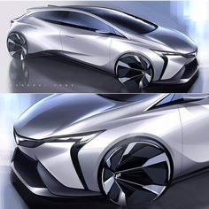 Peugeot concept design by Car Design Sketch, Truck Design, Car Sketch, Industrial Design Sketch, Cool Sports Cars, Futuristic Cars, Unique Cars, Car Drawings, Transportation Design