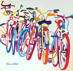 Colorful ride