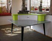 Fantastic Danish Modern Corner Table