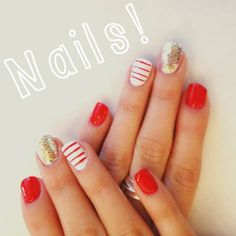 Accent Nails Using Essie 'Hors D'Oeuvres' | $8.50 #Nails #Beauty #Gifts #Holidays #Nails Visit Beauty.com for more.