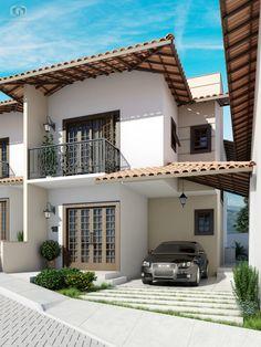 condominio-loteamento-casas-flamboyant-casa-fachada-maquete-3d