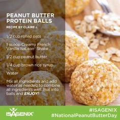 Protein Bites, Protein Ball, Healthy Protein, Protein Snacks, Healthy Snacks, Healthy Recipes, Protein Recipes, Healthy Eating, Clean Eating