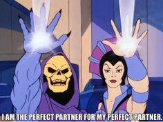 Skeletor Affirmations (by ghoulnextdoor) Relationship goals Skeletor Quotes, Dark Humour Memes, Humor, Jem And The Holograms, Kids Tv, I Love To Laugh, Just For Laughs, Manga, Spirit Animal