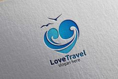 travel logo Travel and Tourism Logo with Love, Sea,and Beach shape in stylish Colors of Hotel and vacation Isolated on white background vector illustration denayunedb Graphics Logos Travel Logo, Travel And Tourism, Business Brochure, Business Card Logo, Travel Brochure, Logo Voyage, Sea Logo, Logos Ideas, Hotels