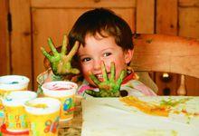 Fingerfarbe selber herstellen – ideal für Hand – und Fußabdrücke von Babys und KindernGeschenkideen blog | Geschenkideen blog
