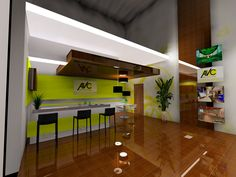 AVC's designs of our new training and customer interface area