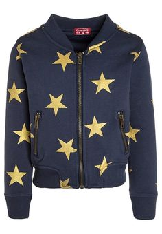 Claesen's GIRLS BOMBER JACKET - Tracksuit top - navy/gold for £37.39 (27/10/17) with free delivery at Zalando