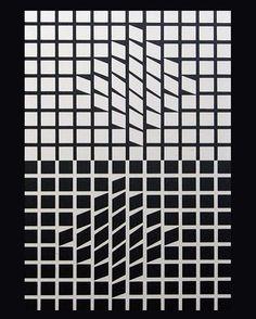 Victor Vasarely - Eridan II (1956)