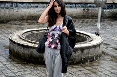 leather jacket: Asos, shoes: Converse by John Varvatos, ring: Storm, top, bag: Zara
