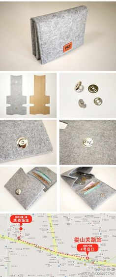 DIY: Easy Felt  Wallet