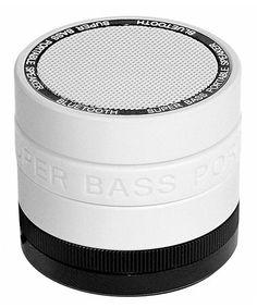 Love this White Super Bass Bluetooth Speaker on #zulily! #zulilyfinds
