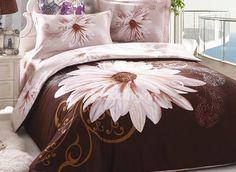 Charming Big Flower Print Duvet Cover Sets on sale, Buy Retail Price Floral Bedding Sets