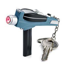 Star Trek Phaser Keychain Flashlight