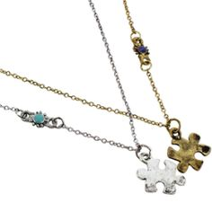 Puzzle Friendship Necklace $3.99