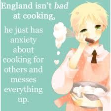 England-Just so it's out there, I would love to try his cooking, no matter how much the other countries diss it.