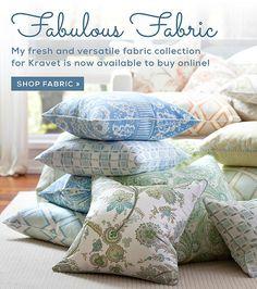 Sarah Richardson Kravet fabric available for purchase