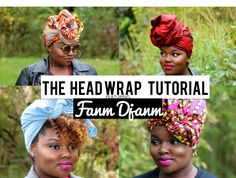 THE HEAD WRAP TUTORIAL FEAT. FANM DJANM | CharyJay