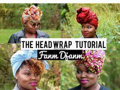 THE HEAD WRAP TUTORIAL FEAT. FANM DJANM | CharyJay