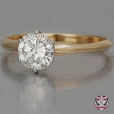 Signed Tiffany Engagement Ring