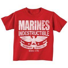 Marines Toddler Shirt - if my grandfather would see my little guy in this, he would be on CLOUD 9!!!!!!
