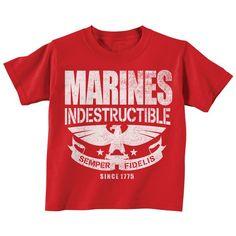 Marines Toddler Shirt