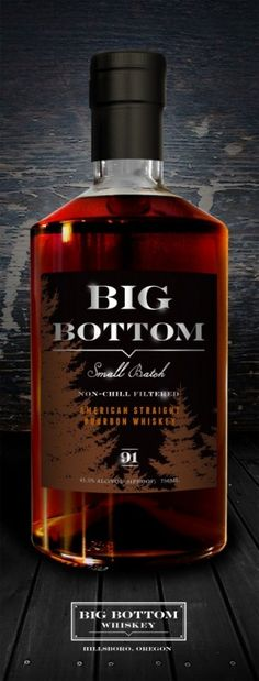 Big Bottom - Aged in new white oak casks and proofed at our American Straight Bourbon Whiskey consists of rye. Cigars And Whiskey, Scotch Whiskey, Bourbon Whiskey, Whiskey Bottle, Wine And Liquor, Liquor Bottles, Ron, Distillery, Malt Whisky