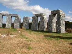 Foamhenge, Natural Bridge Virginia..silly but fun to take a pic and move on.