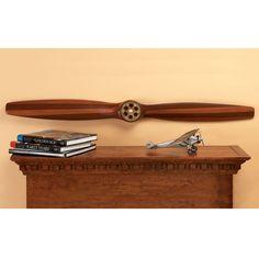 WWI Vintage Wooden Propeller (4 ft.) - from Sporty's Pilot Shop