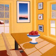 Interior with Pomegranates, Sabra Field