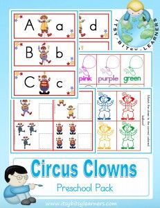 Place to purchase cut circus preschool pack. Preschool Circus, Circus Classroom, Circus Activities, Preschool Themes, Preschool Printables, Classroom Themes, Toddler Preschool, Preschool Activities, Circus Crafts