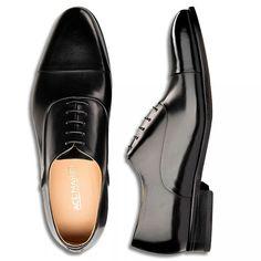 Amazon.com | Ace Marks Men's Griffin Oxford, Black, 10.5 | Shoes