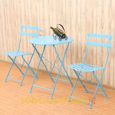 Outdoor Patio Table Set Garden Furniture Dining Chairs 2pcs Yard Table Chair | eBay