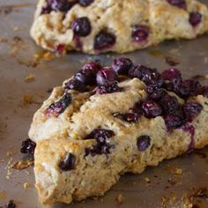 blueberry-sourdough-scones-wild-yeast - make with cranberry Sourdough Starter Discard Recipe, Sourdough Recipes, Sourdough Bread, Bread Recipes, Cake Recipes, Yeast Bread, Baking School, Fermented Foods, Sweet Bread