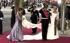 El príncipe Haakon de Noruega y Mette-Marit