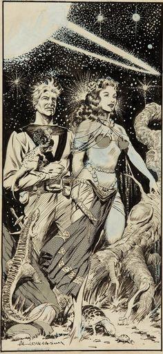 Cap'n's Comics: Some Space-Borne! by Al Williamson and Frank Frazetta
