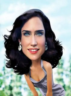 Jennifer Connelly. How pretty!
