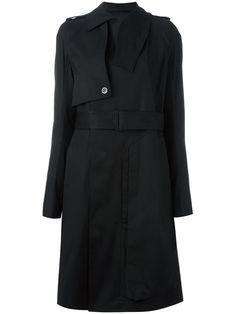 RICK OWENS Cargo Trench Coat. #rickowens #cloth #coat