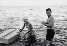 mrs-kennedy-and-me:  The senator and Mrs. Kennedy