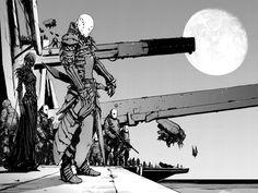 Manga Art, Character Art, Cyberpunk Character, Fantasy Art, Sci Fi Art, Cyberpunk Art, Cyberpunk Rpg, Manga Illustration, Interesting Art