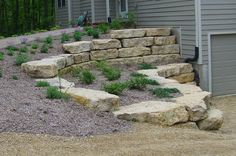 Natural Stone Retaining Walls | natural-stone-retaining-wall-007