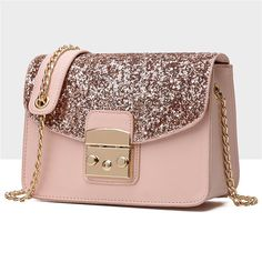 Cheap sequin bag, Buy Quality crossbody bags for women directly from China bags for women Suppliers: Tuladuo Sequin Bags Handbags Women Famous Brands Crossbody Bags for Women 2017 Messenger Bag Shoulder Bag Sac a Main Femme Luxe Fashion Handbags, Purses And Handbags, Fashion Bags, Women's Fashion, Fashion Purses, Ladies Handbags, Pink Handbags, Ladies Fashion, Fashion Trends