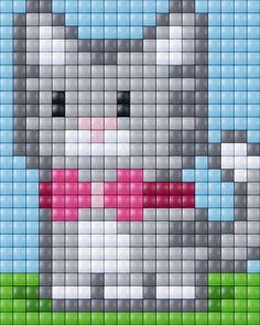 Fuse Beads, Perler Beads, Cross Stitch Designs, Cross Stitch Patterns, Pixel Crochet, Perler Bead Templates, Bobble Stitch, Beaded Cross Stitch, Balloon Wall