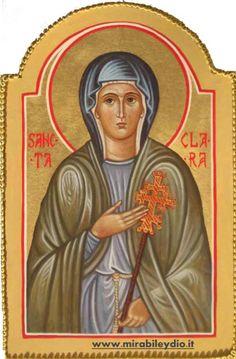 Santa Chiara Vergine 11 agosto (Assisi, 1193/1194 – Assisi, 11 agosto 1253 ) Ha appena dodici anni Chiara, nata nel 1194 dalla nobile e ricca famiglia degli Offreducci, quando Francesc…