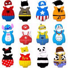 Baby Kids Boy Girl Animal Grow Onesie Bodysuit Romper Jumpsuit Costume Cloth Set #Unbranded